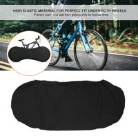 Greensen Universal High Elastic Bicycle Dust Cover Mountain Bike Indoor Chain Wheel Protector
