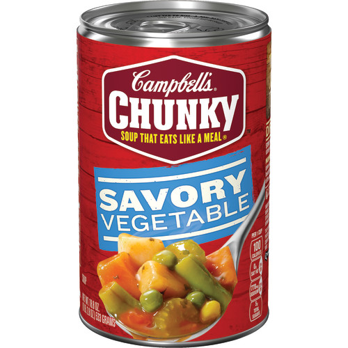 Campbell's Chunky Savory Vegetables Soup, 18.8 oz.