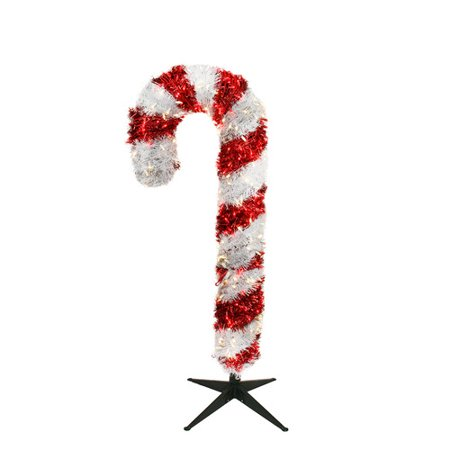 northlight seasonal giant commercial grade lighted candy cane yard art christmas decoration - Giant Candy Decorations Christmas