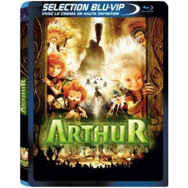 Arthur And The Invisibles 2006 Arthur Et Les Minimoys Arthur And The Minimoys Blu Ray Reg A B C Import France Walmart Com Walmart Com