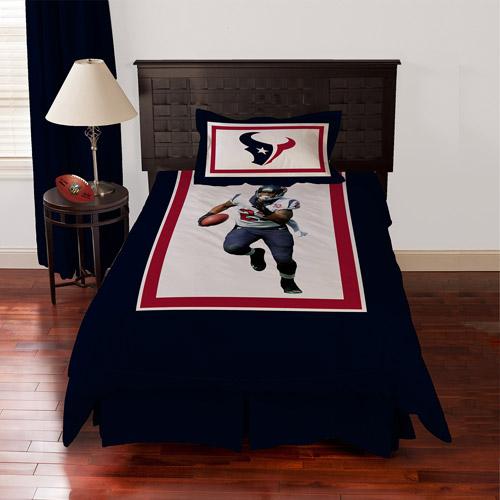 Biggshots Houston Texans Arian Foster Bedding Comforter Set