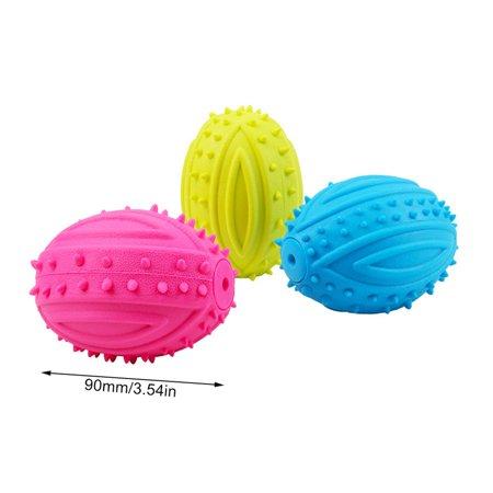 Pet Dog Toy Molar Stick Barbed Tpr Leaker Bite-Resistant Toy Teeth Ball - image 6 de 7