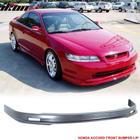 Fits 98-00 Honda Accord MU PP - Polypropylene Front Bumper Lip Spoiler Body Kit