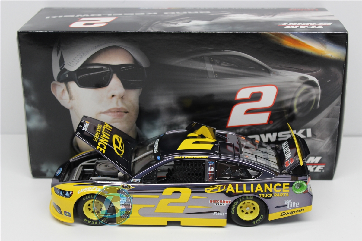 Brad Keselowski 2015 Alliance 1:24 Color Chrome Nascar Diecast by Lionel Racing