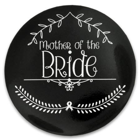 PinMart's Wedding Day Bachelorette Bridal Party - Mother of the Bride Button for $<!---->