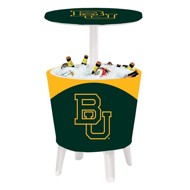 Victory Corps 810024BAY-001 NCAA Event Cooler Table Baylor - No.001
