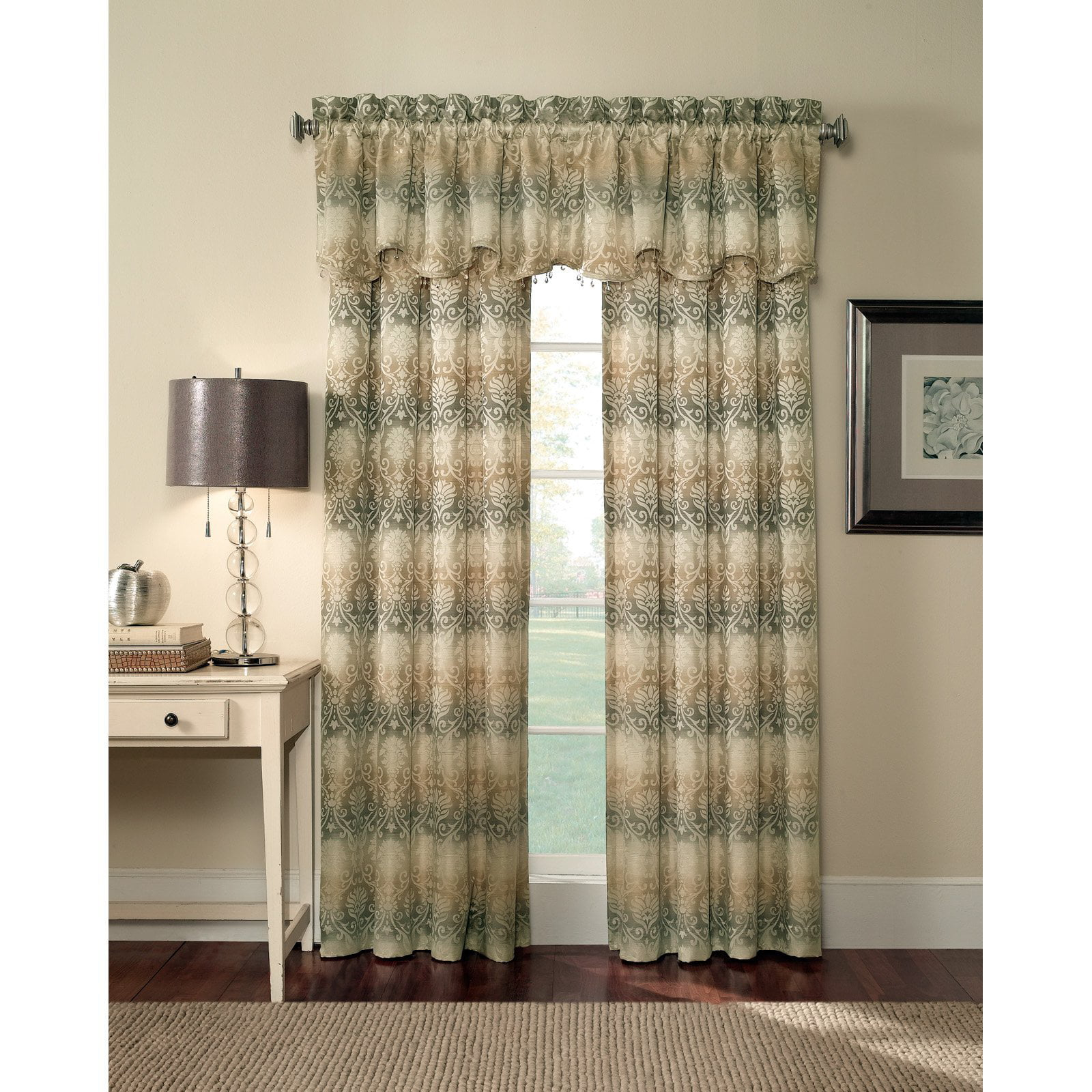 Faux Suede Room Darkening Extra Wide 108 X 84 In Grommet Curtain Panel Pair