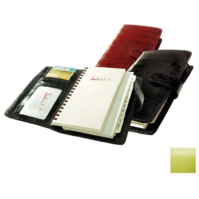 Raika RO 207 LIME 4.5in. x 6.75in. Pocket Planner - Lime
