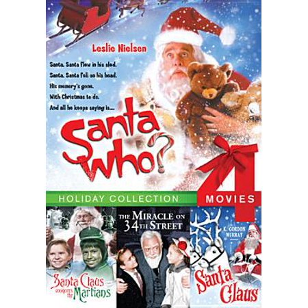 Santa Who? / Santa Claus Conquers the Martians / Santa Claus / Miracle on 34th Street (DVD) (Who Created Santa Claus)