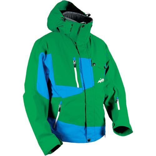 HMK Peak 2 2014 Mens Snow Jacket Green/Blue
