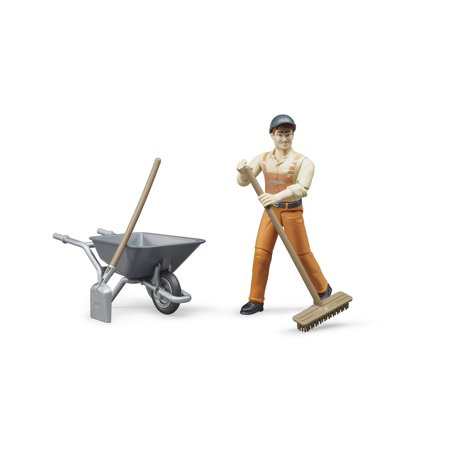 Figure set municipal worker - Railroad Worker Figures