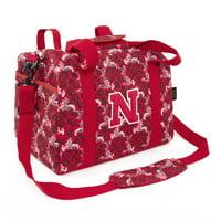 Eagles Wings Nebraska Bloom Mini Duffle Bag