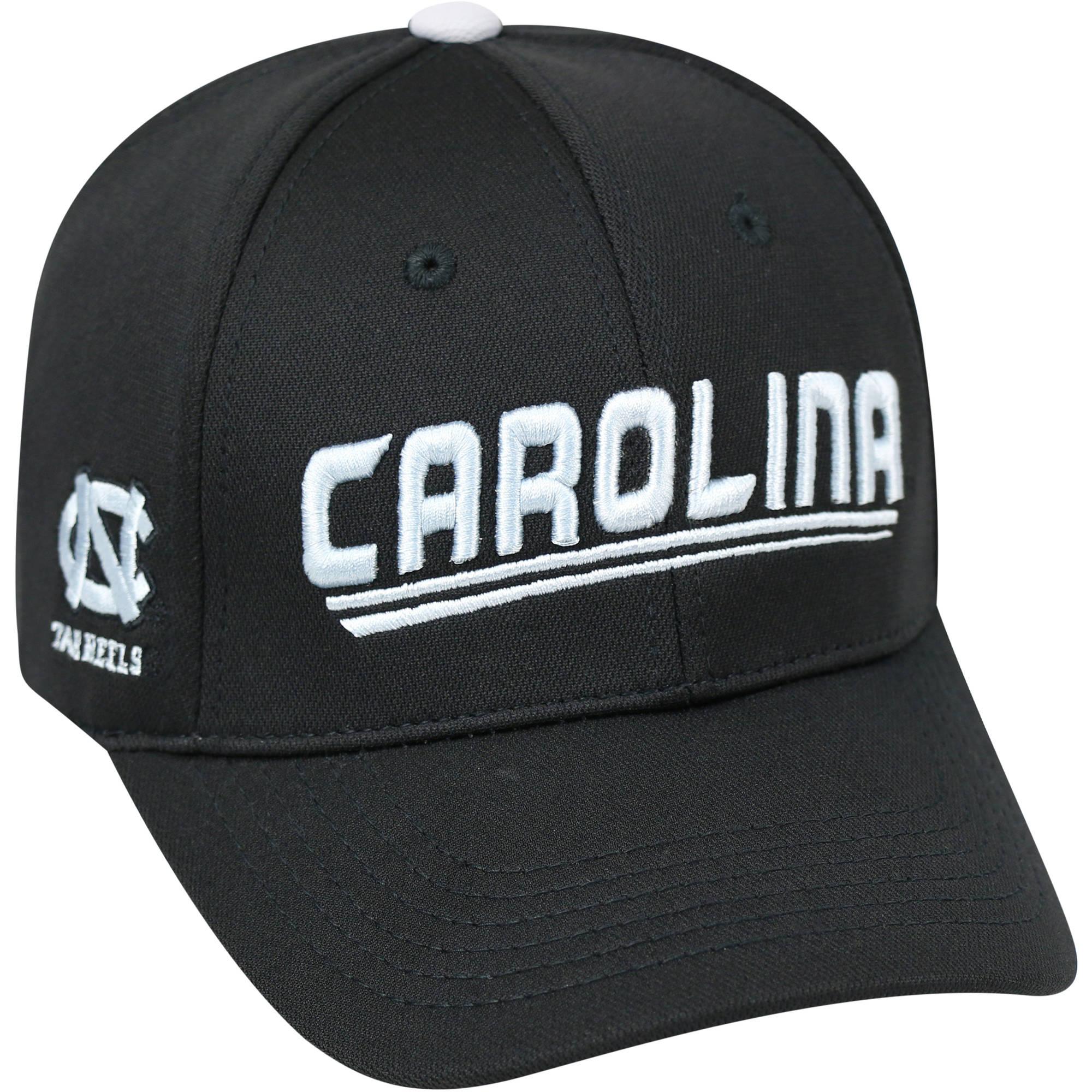University Of North Carolina Tar Heels Black Baseball Cap