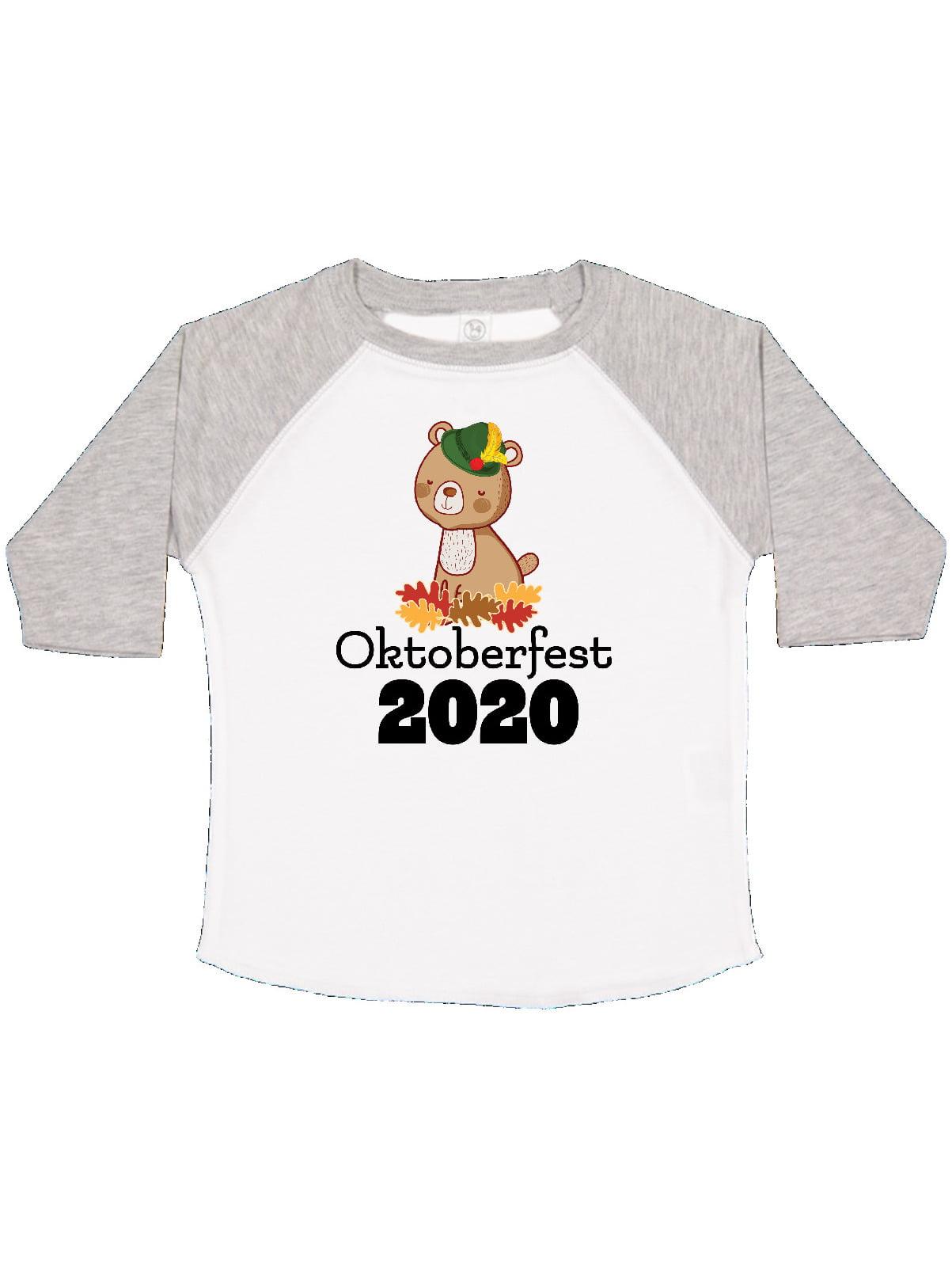 inktastic My First Oktoberfest with Cute Squirrel Baby T-Shirt
