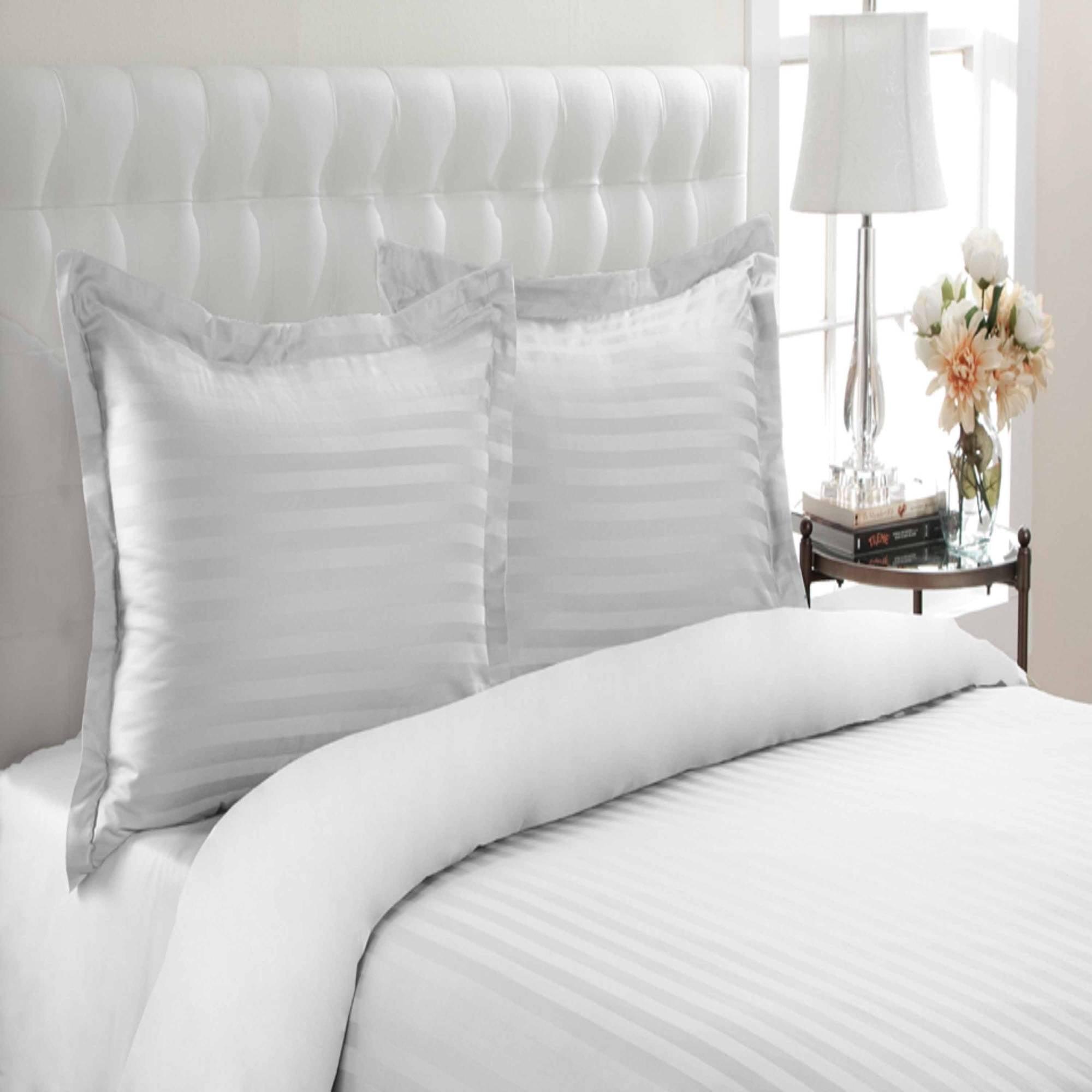 T500 Andiamo 100 Percent Cotton Stripe Duvet Set