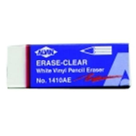 Alvin Vinyl Pencil Eraser White Walmart Com