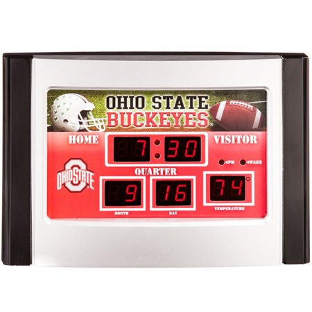 Ohio State Buckeyes 6.5'' x 9'' Scoreboard Desk Clock - No (Game Clocks Scoreboards)