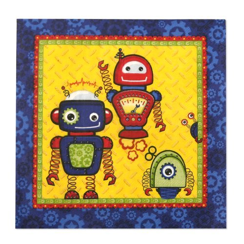 Robots - Luncheon Napkins (16 count)