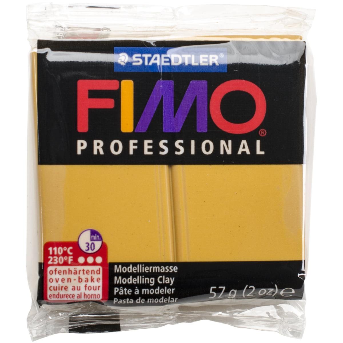 Fimo Professional Soft Polymer Clay 2oz-Ochre