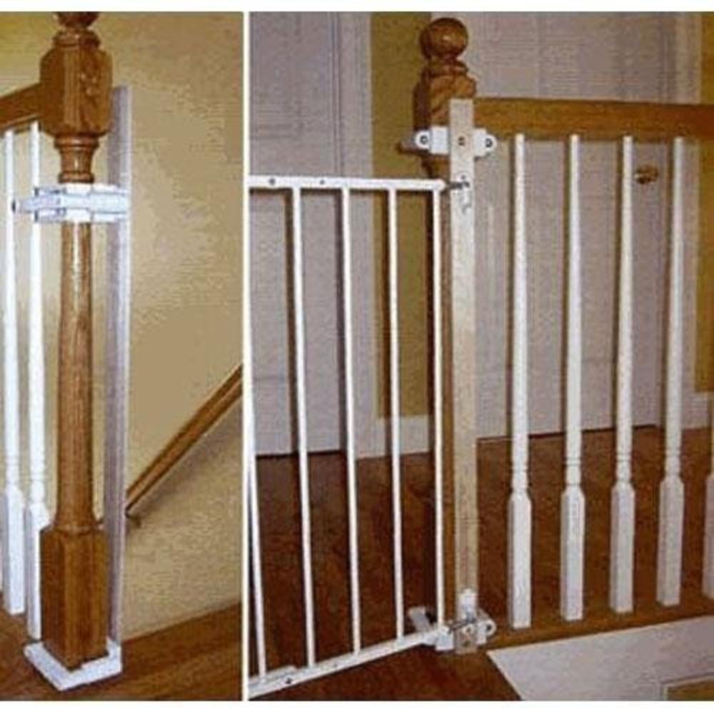 Stairway Gate Installation Kit (K12) By, Properly Install Safety Gates To  Stairway Banisters By KidCo