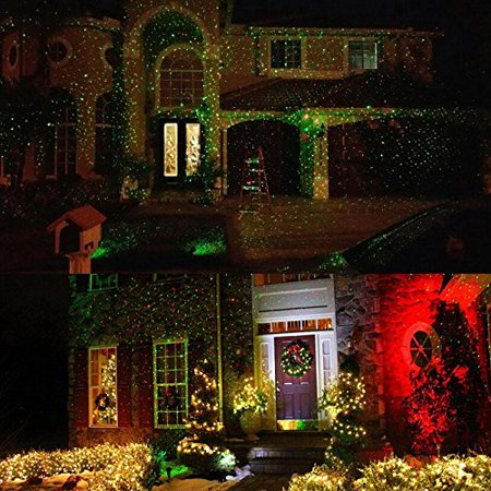 Used christmas laser light with remote control outdoor and indoor used christmas laser light with remote control outdoor and indoor red and green star laser show aloadofball Choice Image
