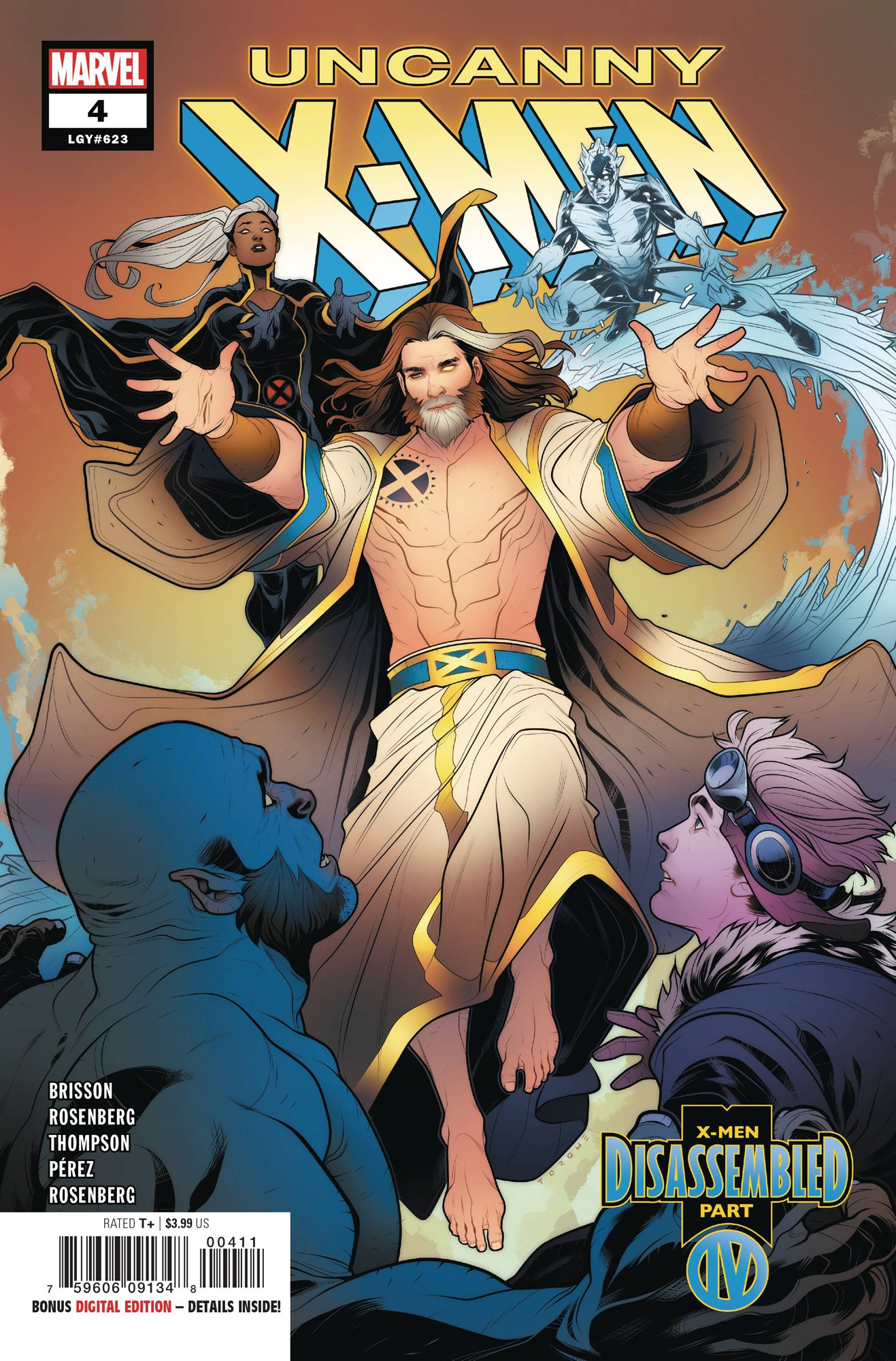 Marvel Uncanny X-Men #4 by