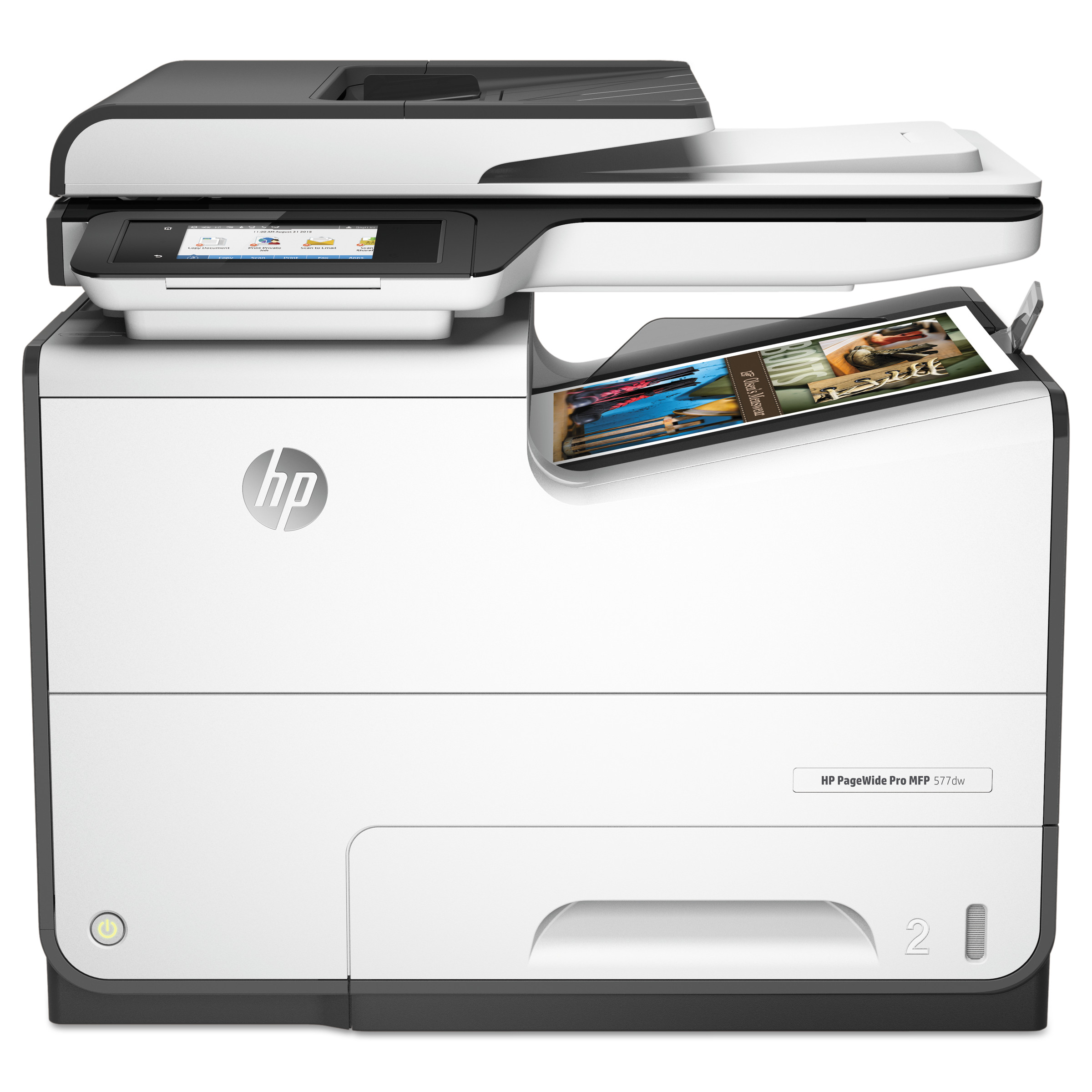 HP PageWide Pro 577dw Multifunction Printer, Copy Fax Print Scan by HP