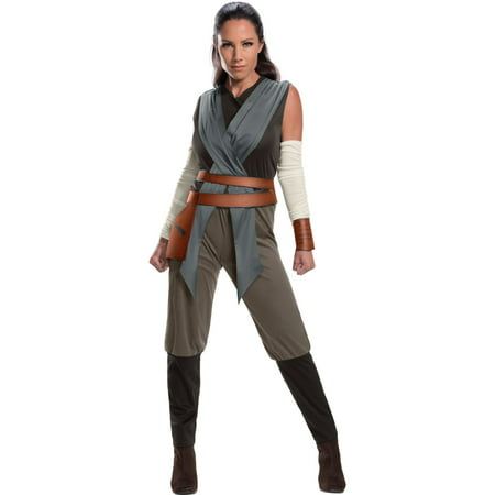 Star Wars Episode VIII - The Last Jedi Women's Rey - Jedi Costumes For Adults