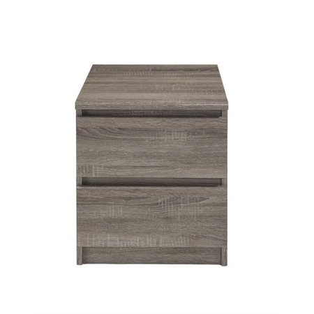 Tvilum Laguna 2 drawer nightstand