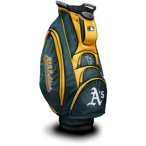 Click here to buy Team Golf MLB Oakland Athletics Victory Golf Cart Bag by Team Golf.