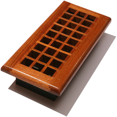 Decor Grates Lattice Wood Floor Register