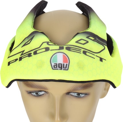AGV Pista Replacement Helmet Liner Yellow LG
