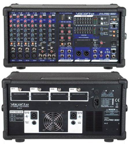 Vocopro PAPRO900 900w Pro Pa Mixer Basic