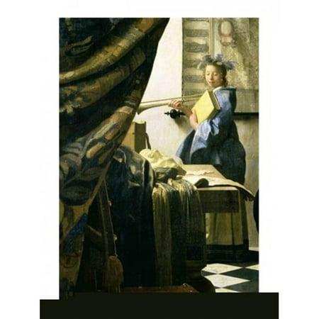 Posterazzi BALXAM70745 Impression de posters de The Artists Studio par Johannes Vermeer - 18 x 24 in. - image 1 de 1