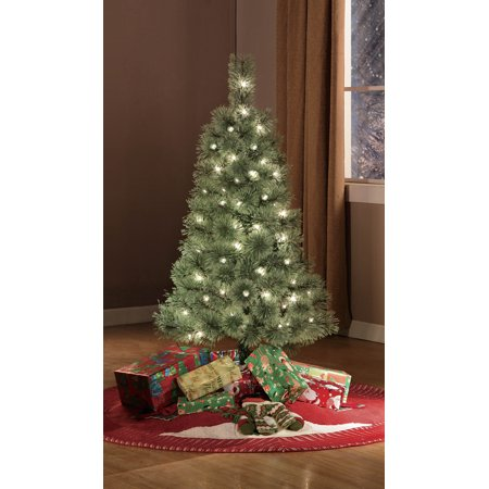 holiday time pre lit 4 cashmere artificial christmas tree clear lights - 4 Christmas Tree