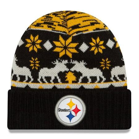 Pittsburgh Steelers New Era Nfl Team Mooser Cuffed Knit Hat