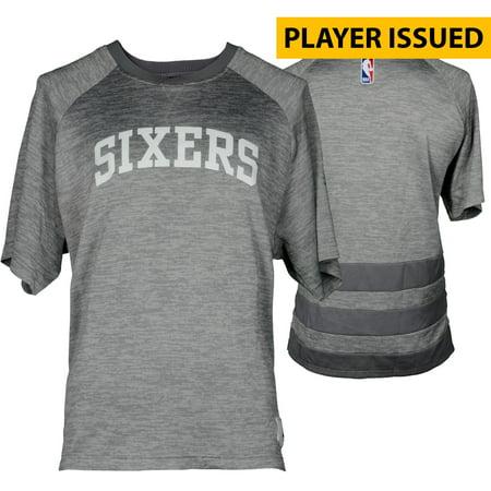 Jahlil Okafor Philadelphia 76ers Player-Issued #8 Gray