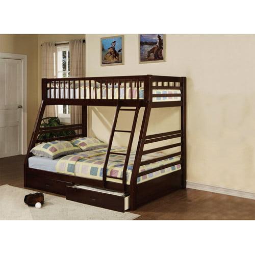 Acme Furniture - Jason Twin over Full Bunk Bed, Espresso