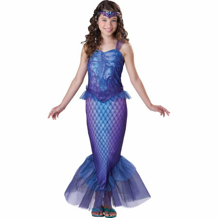 Diy Mermaid Halloween Costumes (Mysterious Mermaid Child Halloween)