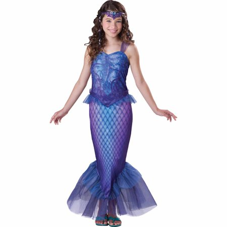 Target Mermaid Costume (Mysterious Mermaid Child Halloween)