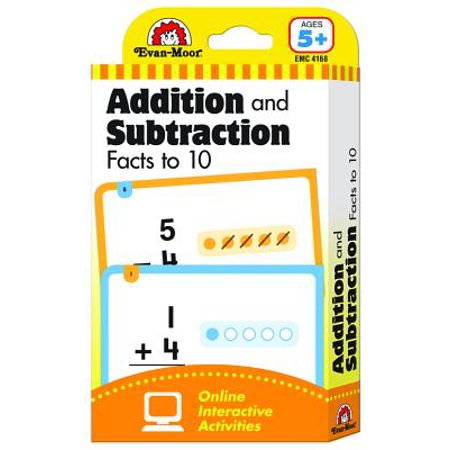 Flashcards : Beginning Addition and Subtraction Facts to