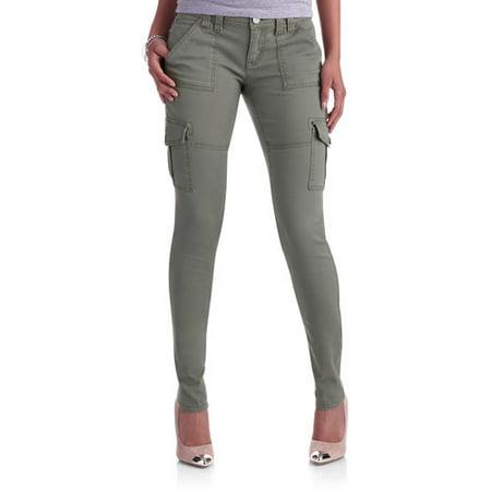 L.E.I. Juniors' Skinny Cargo Pants - Walmart.com
