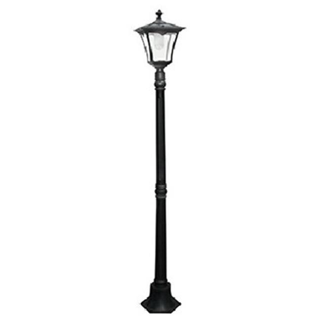 Northern Inc GL23716BK Street Lamp Solar Light