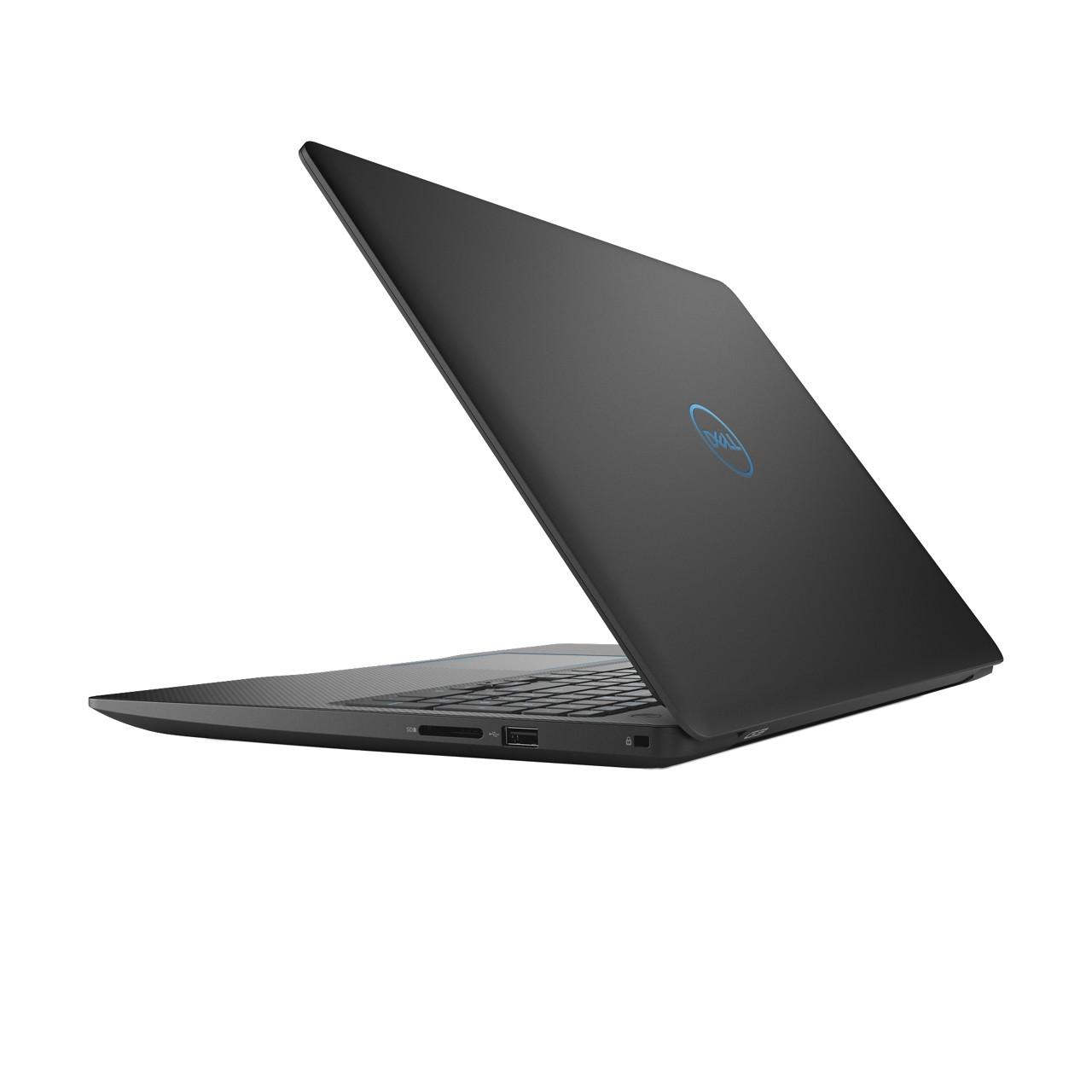Dell G3 Gaming Laptop 15.6u0022 Full HD, Intel Core i7-8750H, 1050 Ti 4GB, 1TB HDD + 256GB SSD Storage, 16GB RAM, G3579-7989BLK