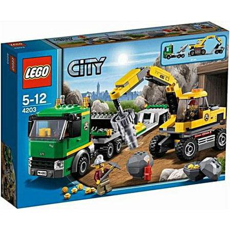 Lego City Excavator Transport 4203 Play Set Walmart