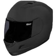 Icon Alliance Dark Helmet Black Rubatone