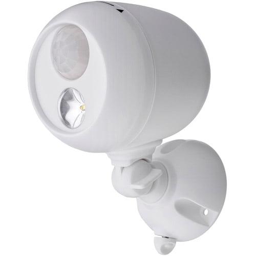 Mr. Beams Wireless Motion Sensing LED Spotlight, White