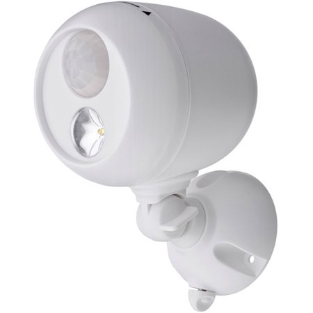 Mr. Beams Wireless Motion Sensing LED Spotlight, White