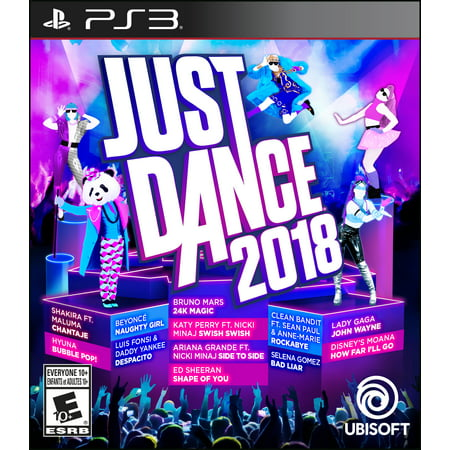 Just Dance 2018, Ubisoft, PlayStation 3,