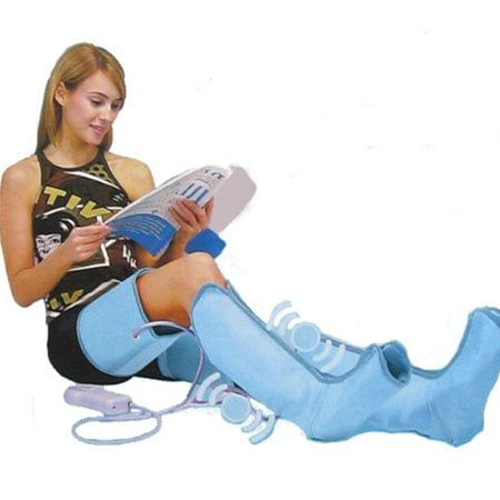 Electric Air Compression Leg Massager Leg Wraps Foot Ankles Calf Massage Machine Promote Blood Circulation